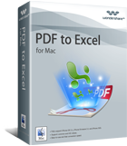 PDF to Excel per Mac Box